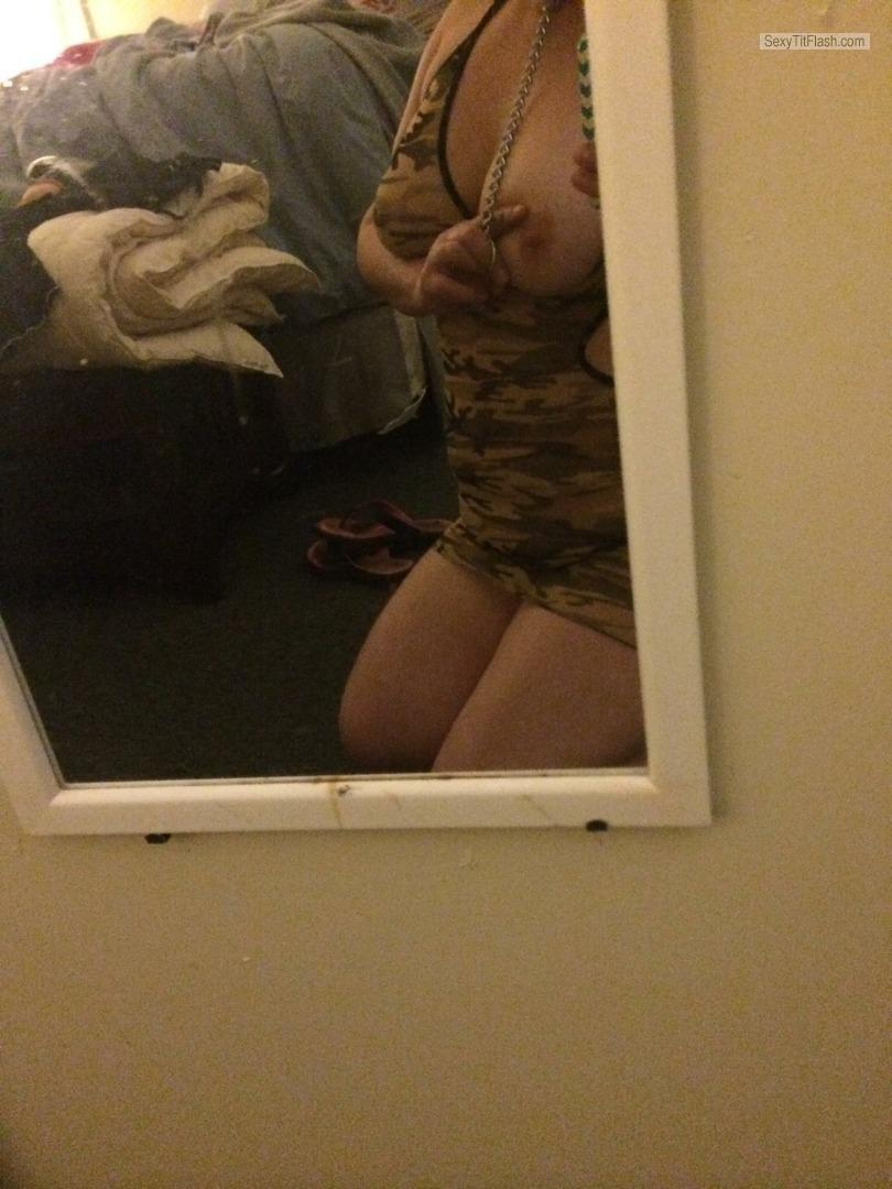 Big Tits Of A Friend Selfie by TJ